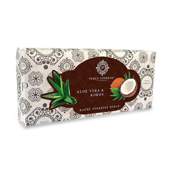Mýdlo Aloe vera a kokos 115g