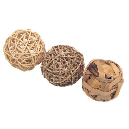 Přírodní míčky - 3ks