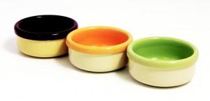 Miska keramická - mix barev