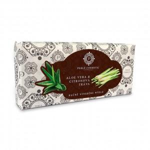 Mýdlo Aloe vera a citronová tráva 115g