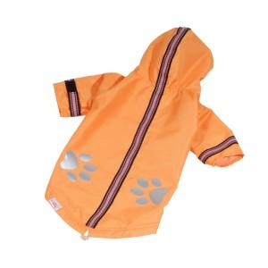 Pláštěnka s reflexem oranžová