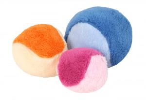 Míček plyšový - mix barev