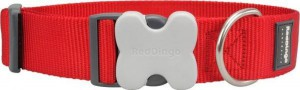Jednobarevný obojek 20 - 32cm x 12mm