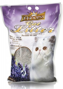 Princess Cat Litter Scoopable - Lavander