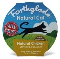 Forthglade Natural Cat Adult - kuře - 125 g