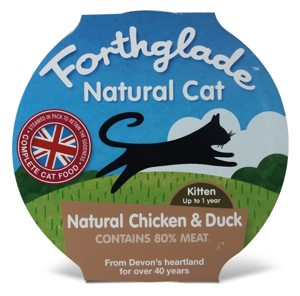 Forthglade - Natural Cat Kitten - kuře,kachna 125g