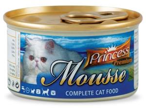 Princess Mousse 85g  Kuřecí a krůtí