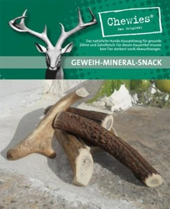 Chewies - jelení paroží - Extra Small 1ks